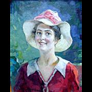SALE Christian Von Schneidau 1893 - 1976 California Master Impressionist