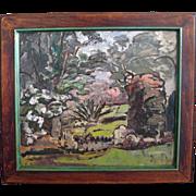 SALE Grace Libby Vollmer  (1884 - 1977) California Impressionist