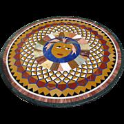 Pietra Dura Round Table Top