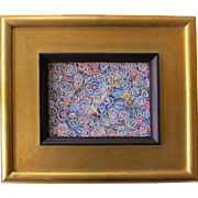 Wesley Johnson Original Mid Century Modern Painting