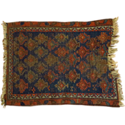 Antique Persian Wool Prayer Rug