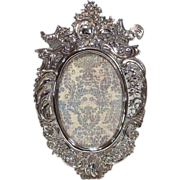 SOLD Antique Hanau Silver Picture Frame Wolf & Knell