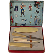 SALE Vintage Child's Manicure Set