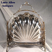 SOLD English Silverplate Biscuit Bun Warmer Server