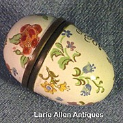 SALE Halcyon Days Bilston & Battersea Enamel Egg Trinket Box