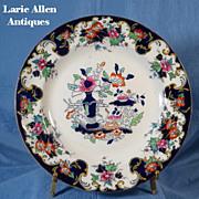 SALE Antique Mason's English ironstone plate oriental design