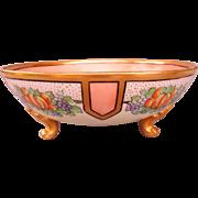 Vintage Tressermann & Vogt (T & V) Limoges Footed Bowl - c. 1902-1907