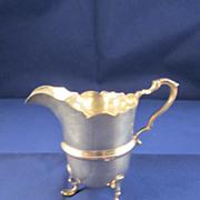 Antique English Sterling Silver Creamer - Birmingham 1906