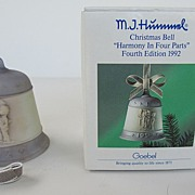 Hummel Christmas Bell - Fourth Edition - 1992