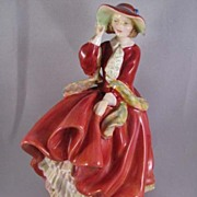 "SALE Royal Doulton ""Top O'The Hill"" No. 1834 Figurine"