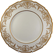 SALE Gorgeous Royal Doulton Gold Encrusted Plates