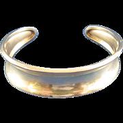SALE Silver Cuff Bracelet Marked 825