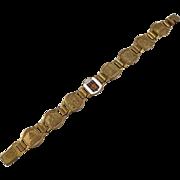 SALE Vintage Paris, France Landmarks Souvenir Bracelet