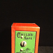 Child's Safe Still Bank-Dog on Door