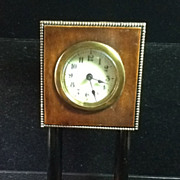 SOLD Small Table Clock
