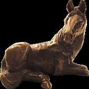 1980's Bronze Horse by Joseph Addolta