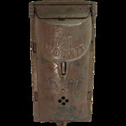 Vintage Cast Iron No 1 Phoenix Mailbox