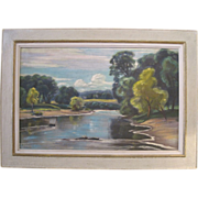 Harold H. Betts (American, 1881-1951) Framed and Signed Oil on Canvas Painting