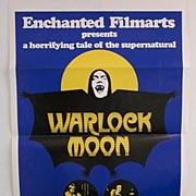 "Original Movie poster ""WARLOCK MOON"""