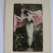 Artchrom Real Photo Postcard RPPC of Beautiful Woman Valentine