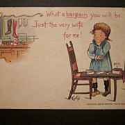 1903 Tuck Valentine Postcard by E. Curtis