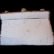 Vintage Delill  Hand beaded Handbag Purse