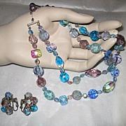Vintage Vogue Demi-Parure Necklace and Earrings