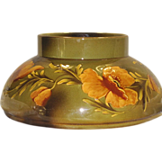 Antique Wardle England Teck Ware Oil Lamp Base Vessel Planter, Vase c. 1890