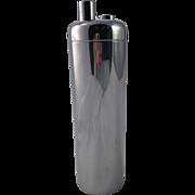 Art Deco Chrome Zephyr Cocktail Shaker William Welden for Revere