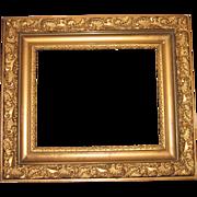 Antique Ornate Gold Gilt Gilded Wood Picture Frame