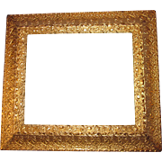 Antique Ornate Gold Gilt Gilded Wood Picture Frame