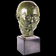 "Sir William Reid Dick K.C.V.O., R.A. (British 1879–1961)  ""Granny"" Bronze"