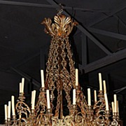 SALE Palatial English Antique Chandelier