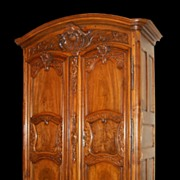 SALE Exceptional French Walnut Armoire