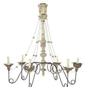 SALE Mid 19th Century Italian Chandelier