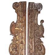 Rare Pair of 17th c. Italian Panels
