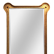 French Transitional Giltwood Mirror