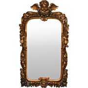 19th Century Italian Carved Mirror