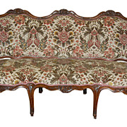 SALE 18th Century French Walnut Settee