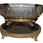Fine French Empire Centerpiece
