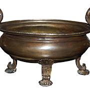 SALE PENDING Classical Bronze Centerpiece