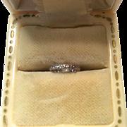 Baby Ring White Gold 10K