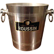 'Champagne Roussin' Vintage French Champagne Bucket