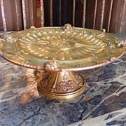 Antique Elkington & Co. Tazza with Neoclassical Design