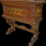 18th Century Italian Walnut Wood Cabinet
