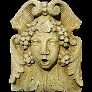 A Decorative Cast Stone Sculpture/Fountain Spout (TWO Available)
