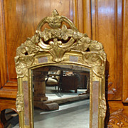 Early 1900s French Mirror 'PareCloses'