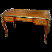 Antique Louis XV Style Bureau Plat