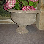 Antique Reconstituted Stone French Urn
