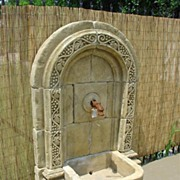 """Raisin"" Hand Carved Stone Fountain"